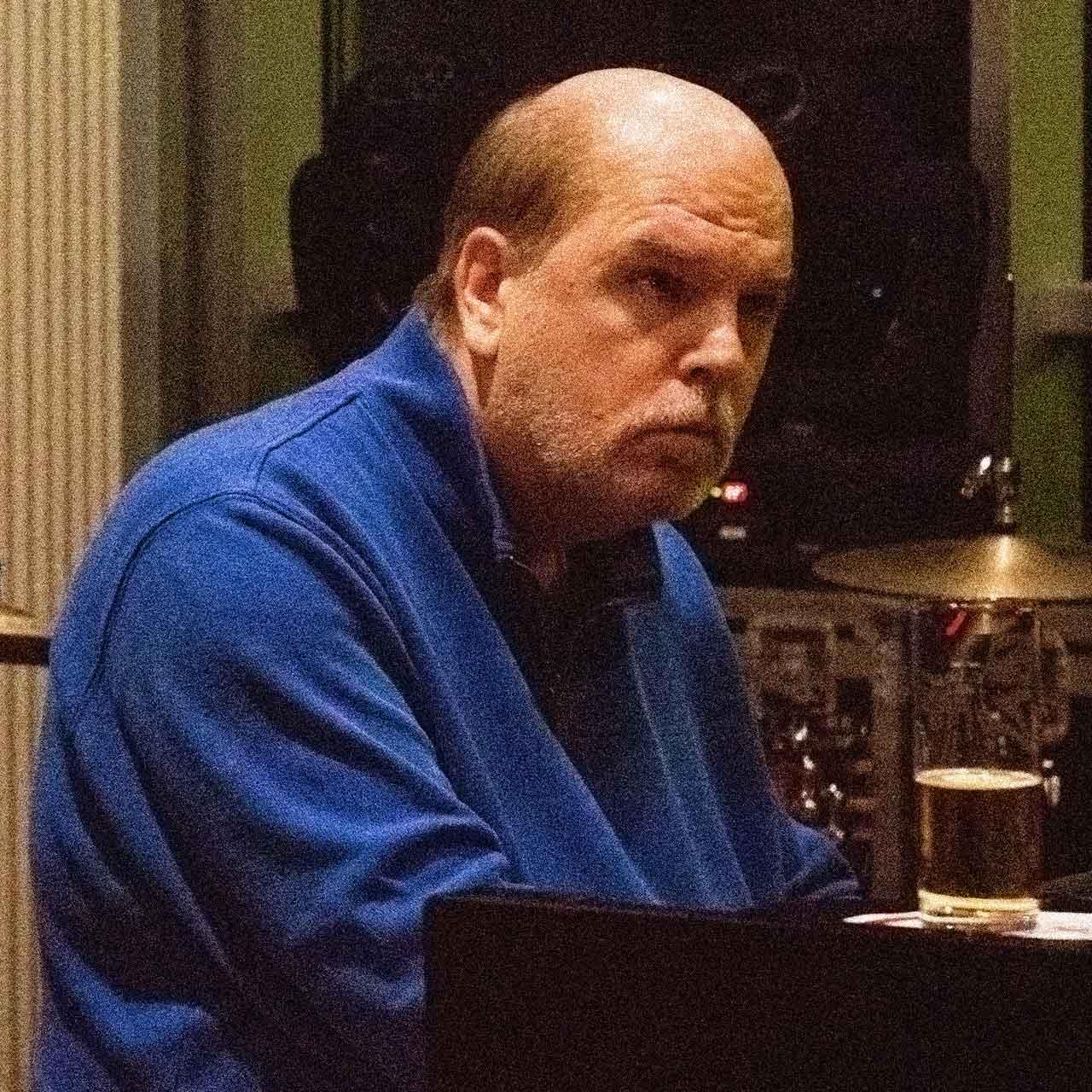 Ernst Gaida-Hartmann plays piano